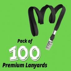 Lanyard - Premium 100 Pack