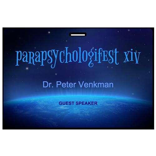 Parapsychologist XIV Dr Peter Venkman guest speaker pass